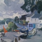 Helford Passage, Morning Light by Andrew Tozer