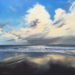 Storm at Godrevy by Vincent Basham